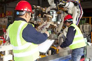 Inspección de máquinas según RD 1215