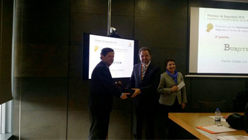 Recognition of Repsol to Burotec company