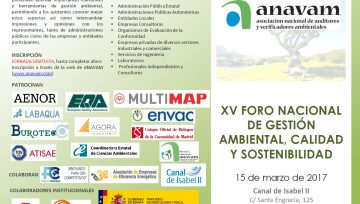 XV NATIONAL FORUM OF ENVIRONMENTAL MANAGEMENT, QUALITY AND SUSTAINABILITY