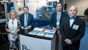 The presence of BUROTEC fair Offshore Technology Conference