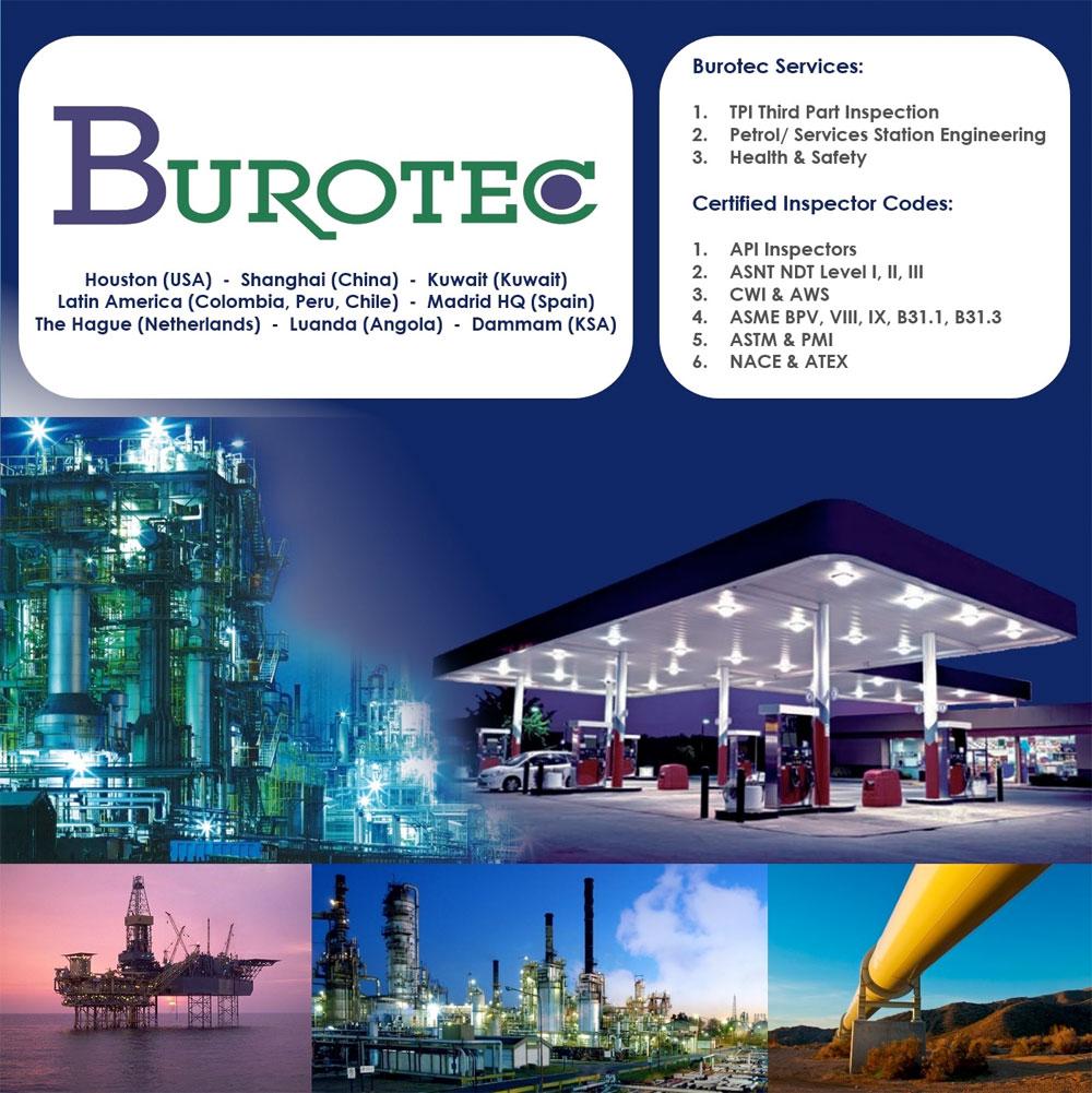 BUROTEC dispondrá de stand propio en la feria OTC 2017 (Offshore Tehcnology Conference) que se celebrará entre el 1 و 4 de mayo en Houston (Texas, USA).