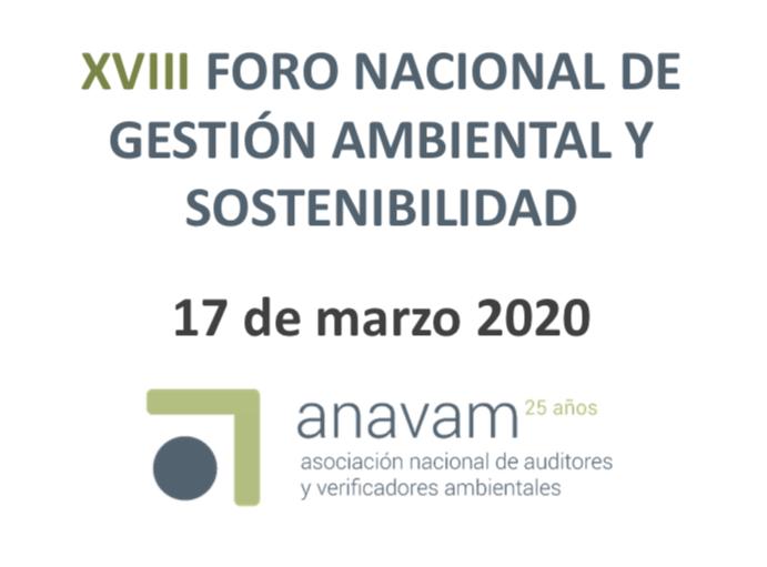 XVIII Foro Nacional de gestión ambiental y sostenibilidad